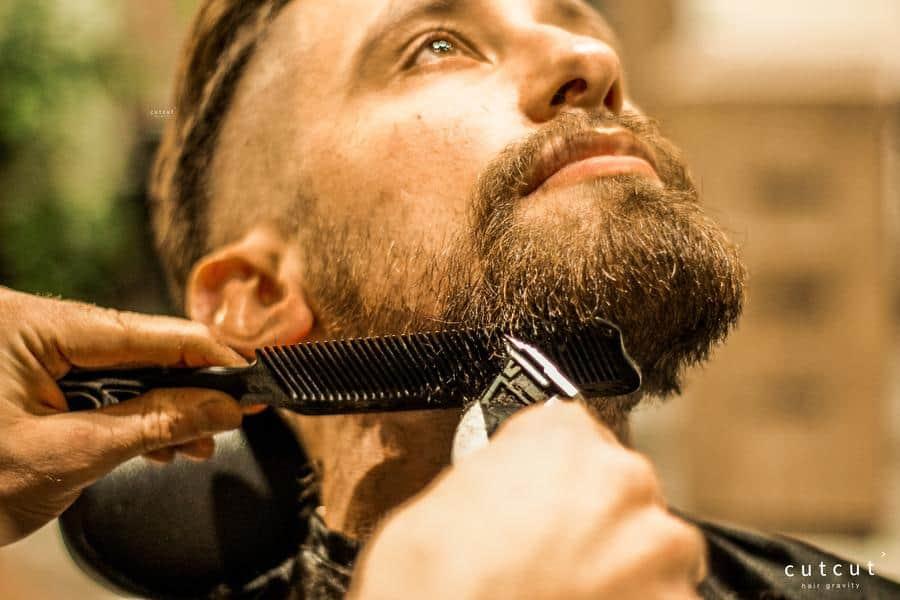 Pigmentacja brody