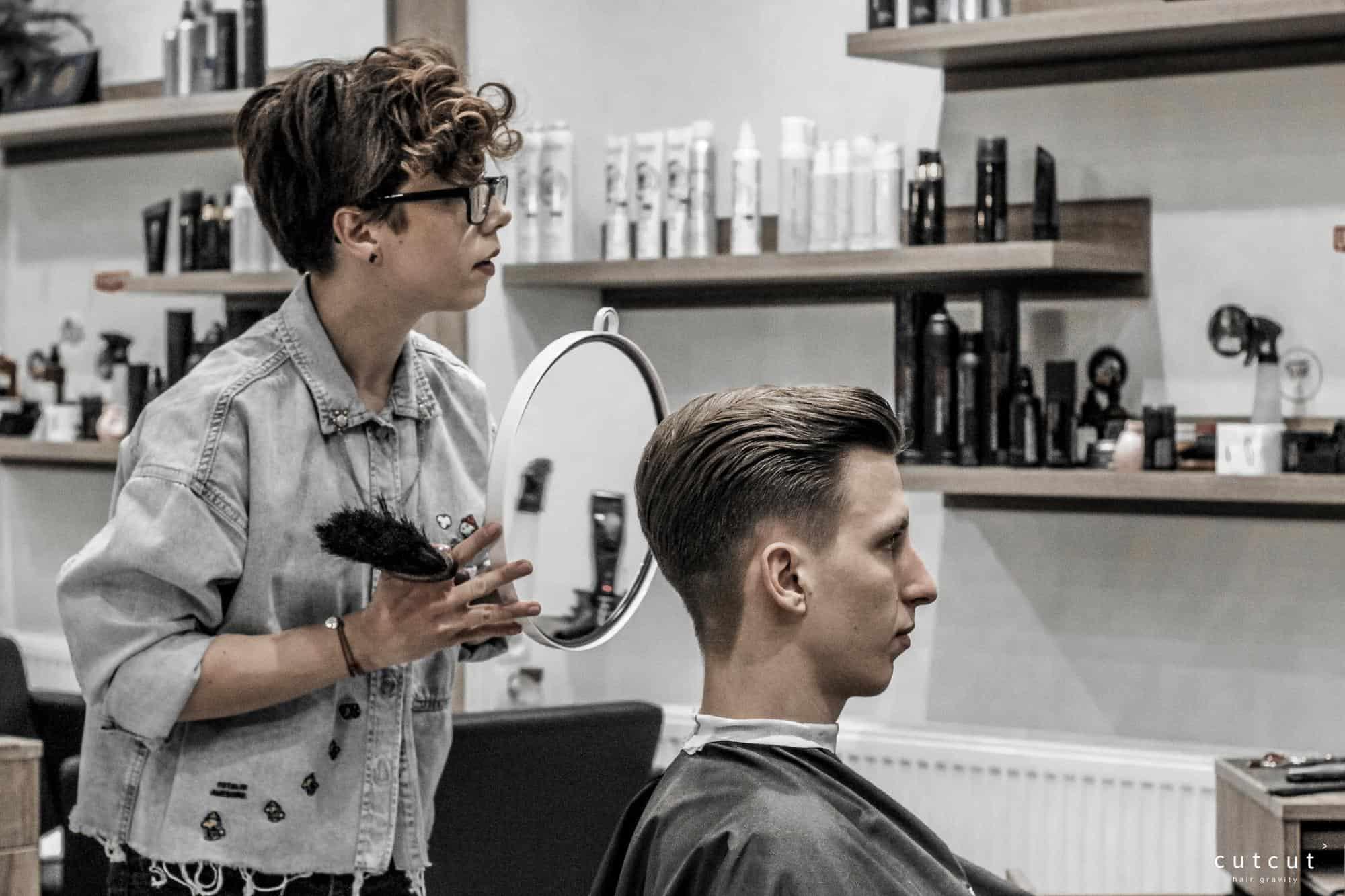 Strzyżenie męskie w Cut Cut Poznań