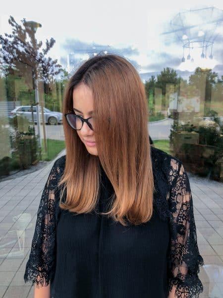 kobieca-fryzura-galeria-zdjec-przepiekna-brazowa-koloryzacja-wlosy-dlugie-najlepszy-fryzjer-poznan