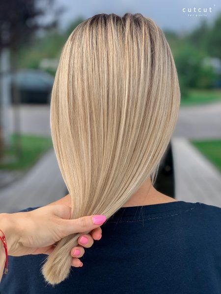 kobieca-fryzura-galeria-zdjec-strzyzenie-oraz-koloryzacja-w-odcieniach-naturalnego-blondu-najlepszy-fryzjer-poznan